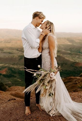 bohemian wedding photos boho couple peytonrbyford