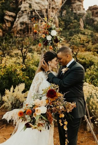bohemian wedding photos tender couple kylie morgan