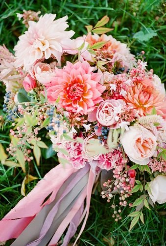 dahlias wedding bouquets pink dahlia bouquet jodiandkurtphoto