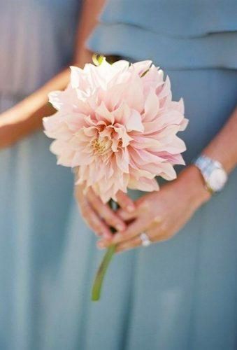 dahlias wedding bouquets single dahlia Curtis Wiklund⁠