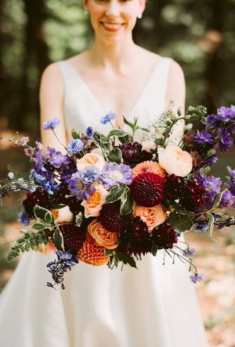 dahlias wedding bouquetsdark dahlia in bouquet mountainairegatherings