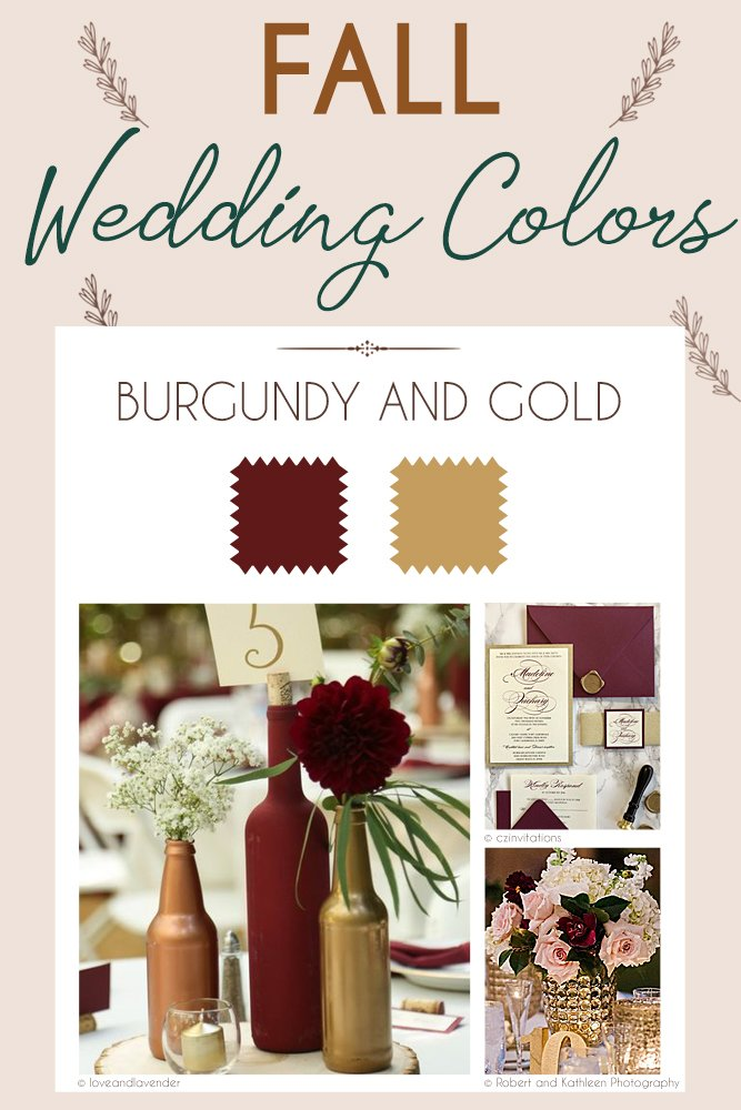 Steal These 24 Fall Wedding Colors Combo Ideas Wedding Forward
