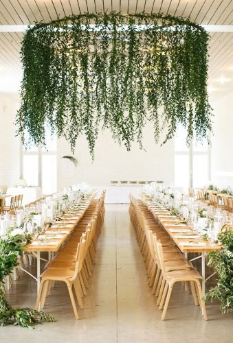 greenery wedding decor hanging greenery decor Davy Gray