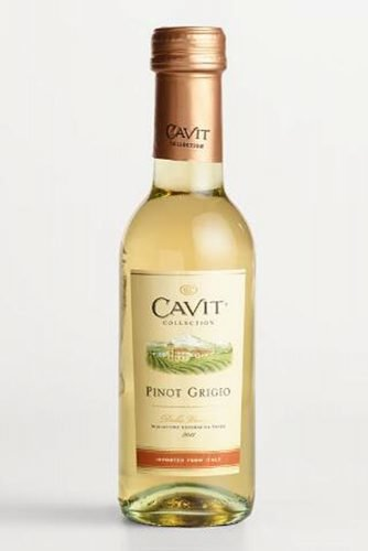 mini champagne bottles cavit collection pinot grigio case