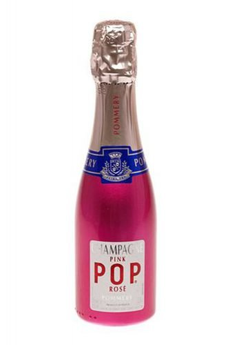 mini champagne bottles pommery pop champagne rose