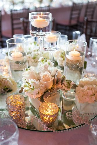 mirror wedding ideas mirror centerpiece heathercookelliott