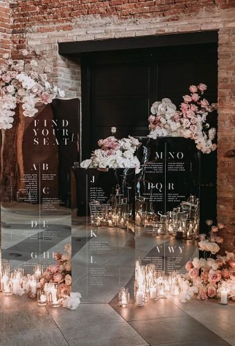 mirror wedding ideas reception decor raquelbenito