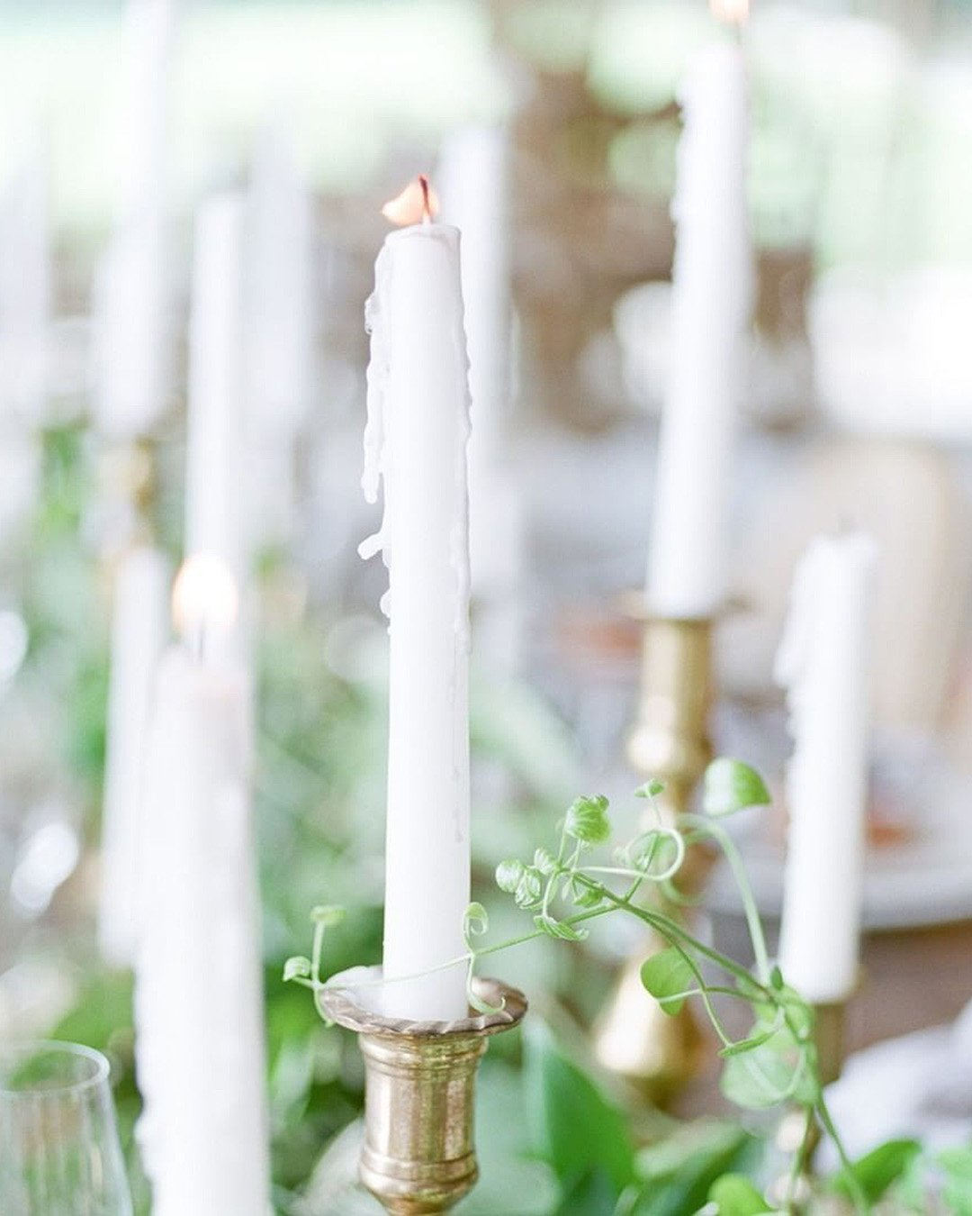 rustic wedding ideas wedding reception table decor candles