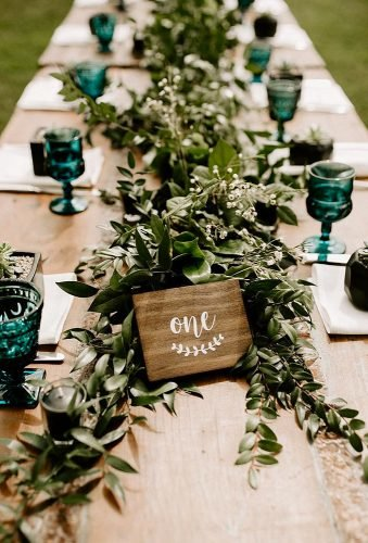 shabby chic vintage wedding decor ideas greenery table decor dawn charles