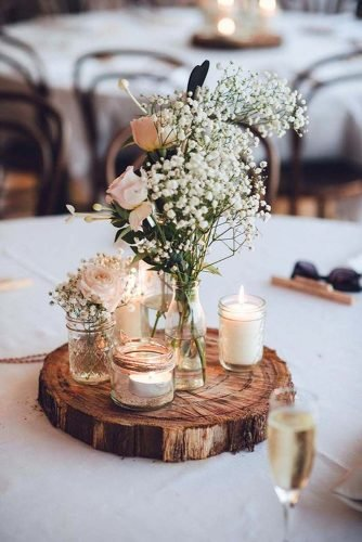 shabby chic vintage wedding decor ideas vintage centerpiece Studio Something Photography