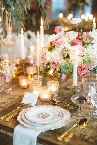 shabby chic vintage wedding decor ideas vintage wedding dish Anna Delores Photography