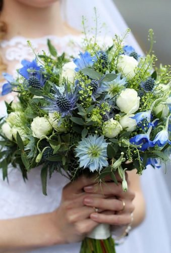 silk wedding bouquets blue bouquet flowersofelegance droitwich