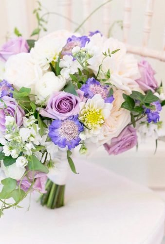 silk wedding bouquets violet bouquet amalieorrangephotography