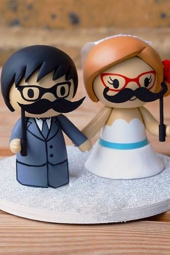 unique wedding cake toppers bride groom dolls genefyplayground