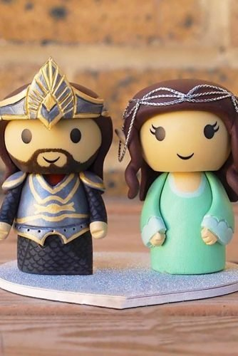 unique wedding cake toppers lord of ring genefyplayground