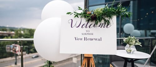vow renewal ceremony script ceremony sign outdoor featured