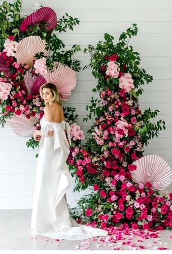 wedding backdrop ideas floral backdrop danafernandezphoto