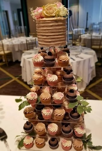 wedding cake alternatives chocolate cupcakes newcakesontheblock ga