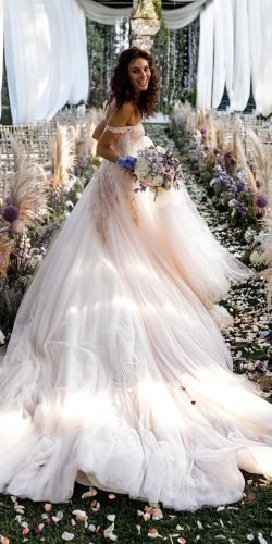 disney wedding dresses ball gown off the shoulder with train belle elisabettalillyred