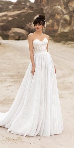 katherine joyce wedding dresses a line strapless neckline for beach
