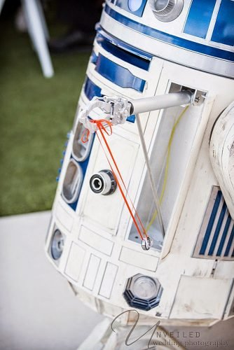 star wars wedding r2 d2 ring bearer