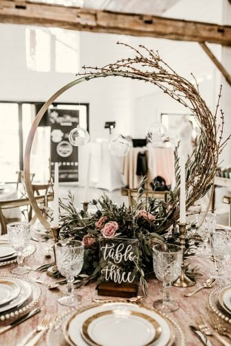 wedding centerpieces spring blush flowers and brunches payton hartsell photography