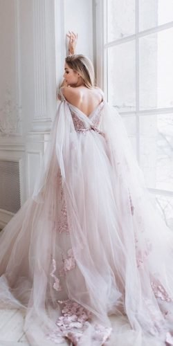 disney wedding dresses ball gown v back pink raravis