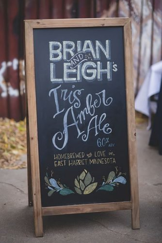 diy wedding ideas chalkboard wedding sign
