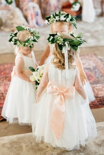 flower girl dresses rustic with bow country kate holstein