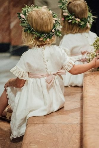 flower girl dresses rustic with bow country kiwo estudio