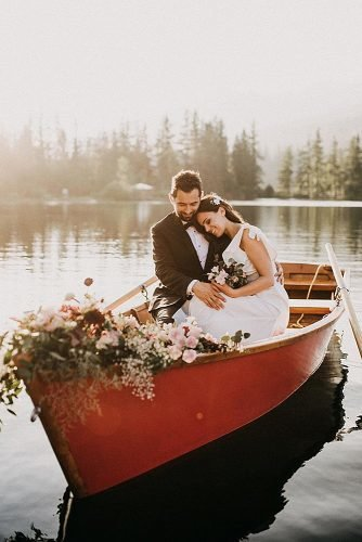 indie wedding songs newlyweds in the boat