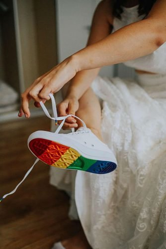 lesbian wedding ideas lgbt wedding shoes