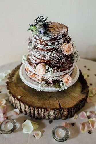 christmas wedding ideas rustic christmas wedding cake