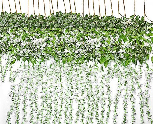 engagement party decorations artifical wisteria vine