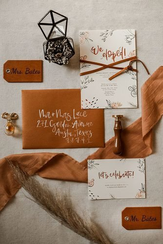 fall wedding party fall boho wedding invitations