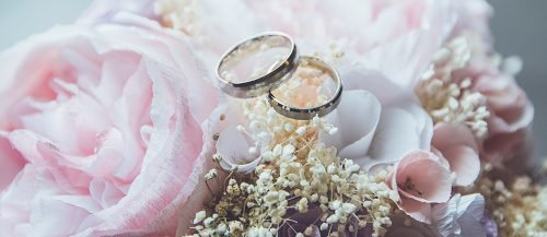 funny wedding poems wedding flowers with wedding rings featured