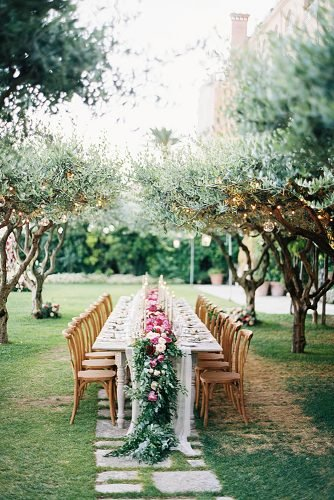 outdoor wedding ideas intimate dinner decor table