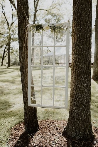 outdoor wedding ideas old window decor
