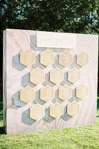 outdoor wedding ideas seating chart installation