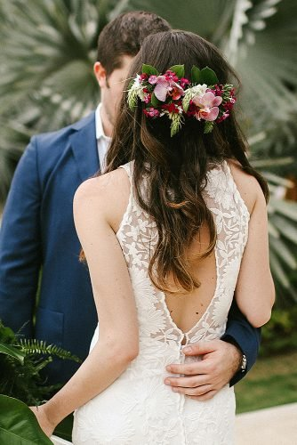 wedding ideas for summer flower headpiece