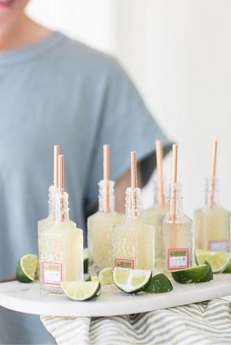 wedding ideas for summer mini margaritas