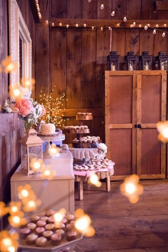 wedding trends dessert bar decor lantern