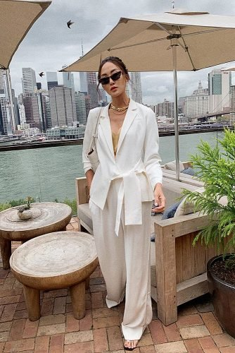 what to wear to an engagement party all white outfit