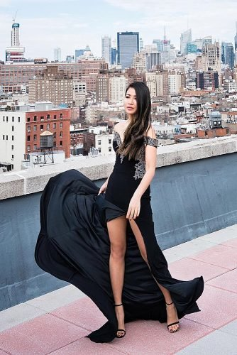what to wear to an engagement party glam dress