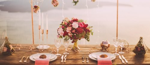 who to invite to an engagement party table decor celebration featured