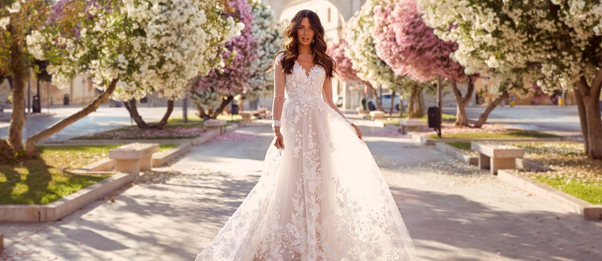 A Line Wedding Dresses 2020 2021 Collections Wedding Forward