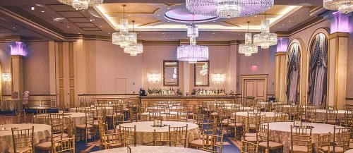 places to have an engagement party hall dinner featured