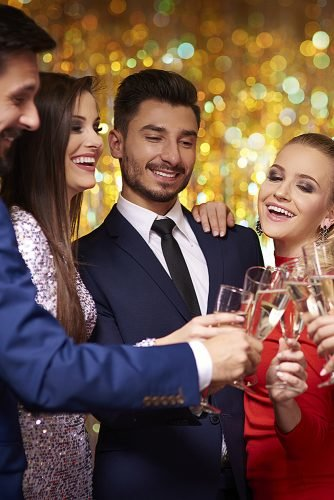 places to have an engagement party night club party