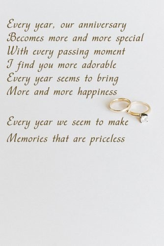 14 Beautiful Wedding Anniversary Poems Wedding Forward