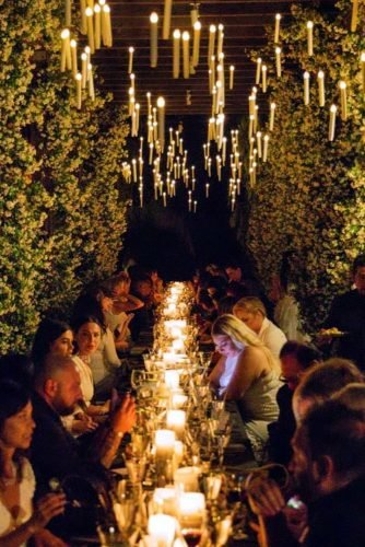 wedding ideas with candles hanging magical atmosphere center_of_attention_events